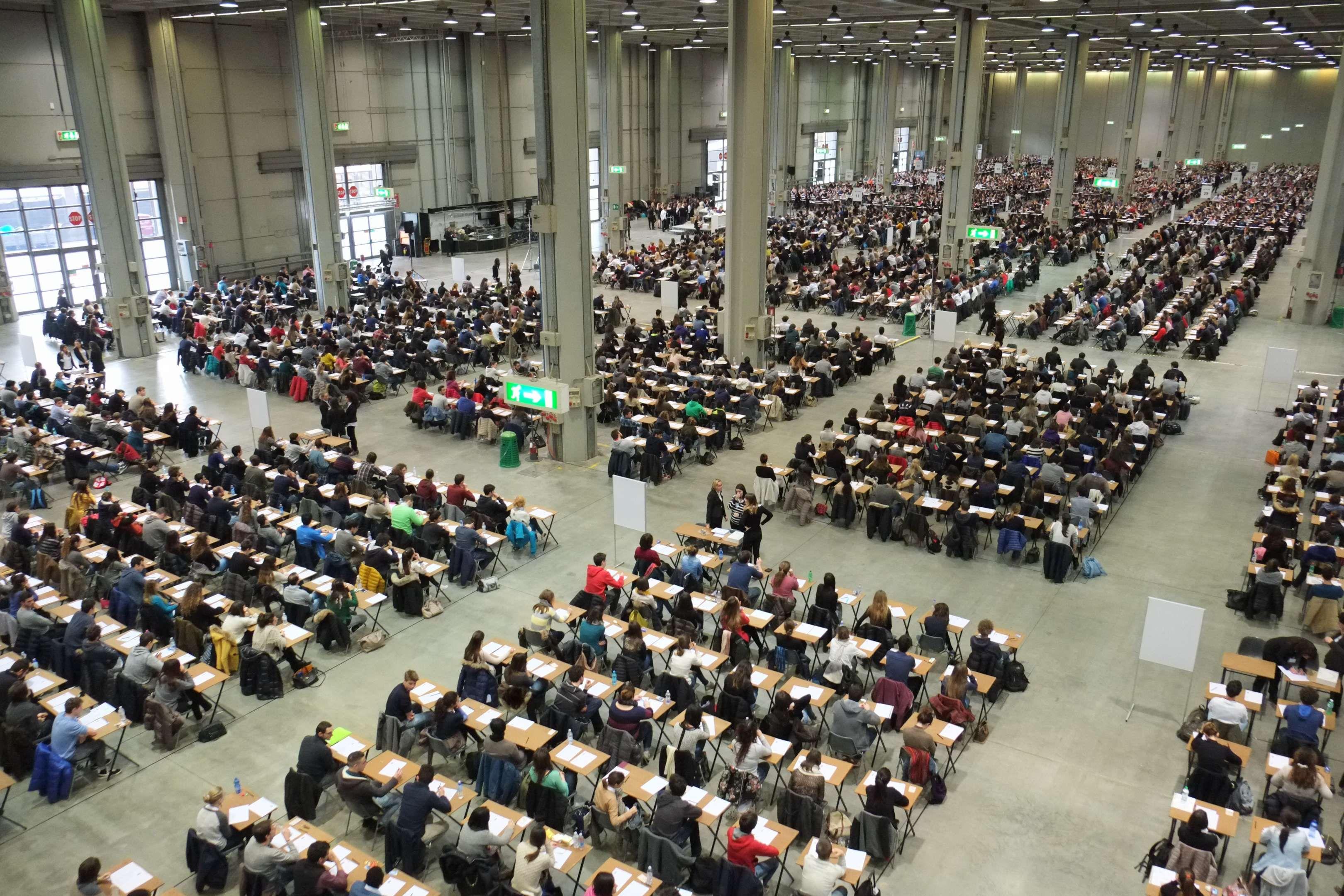 Test ammissione numero di candidati per i test dei corsi for Test ammissione politecnico milano