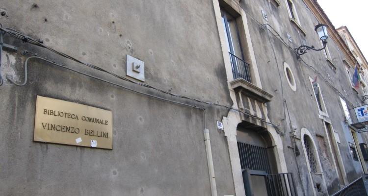 Catania biblioteca comunale vincenzo bellini gli for Orari apertura bricoman cagliari