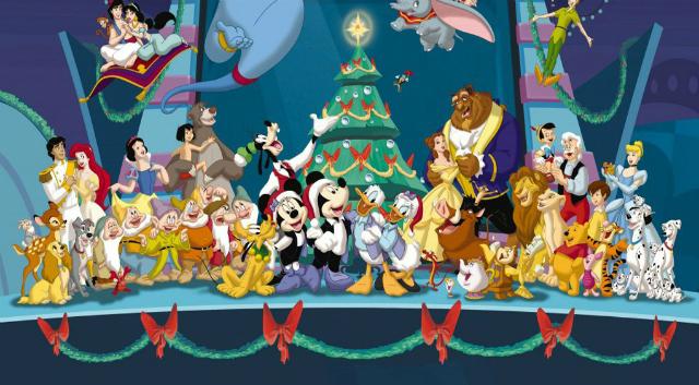 Natale la programmazione completa dei film disney