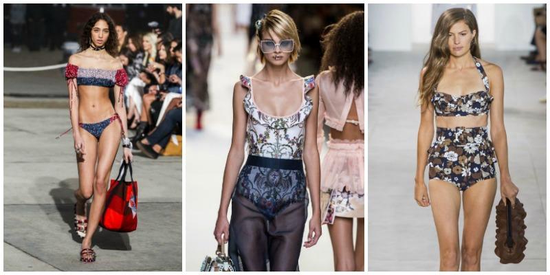 Moda i costumi da bagno di tendenza per l estate 2017 - Costumi da bagno interi 2017 ...