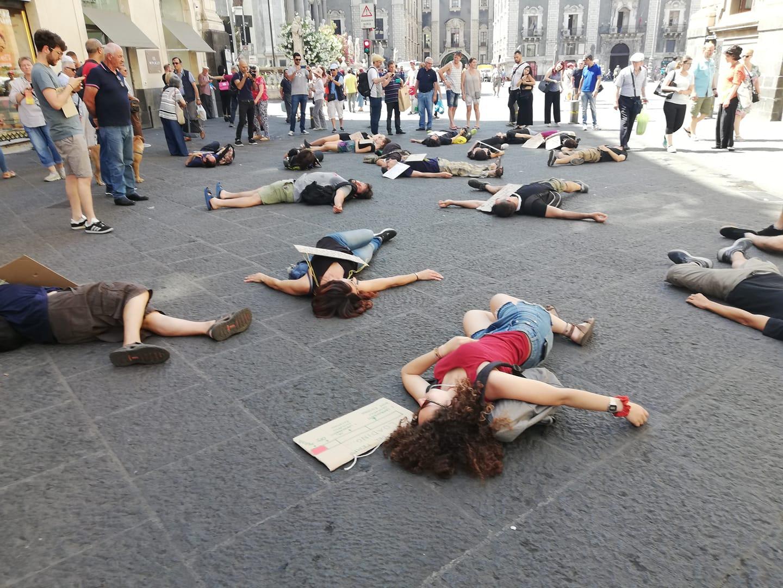 Catania, sciopero per il clima