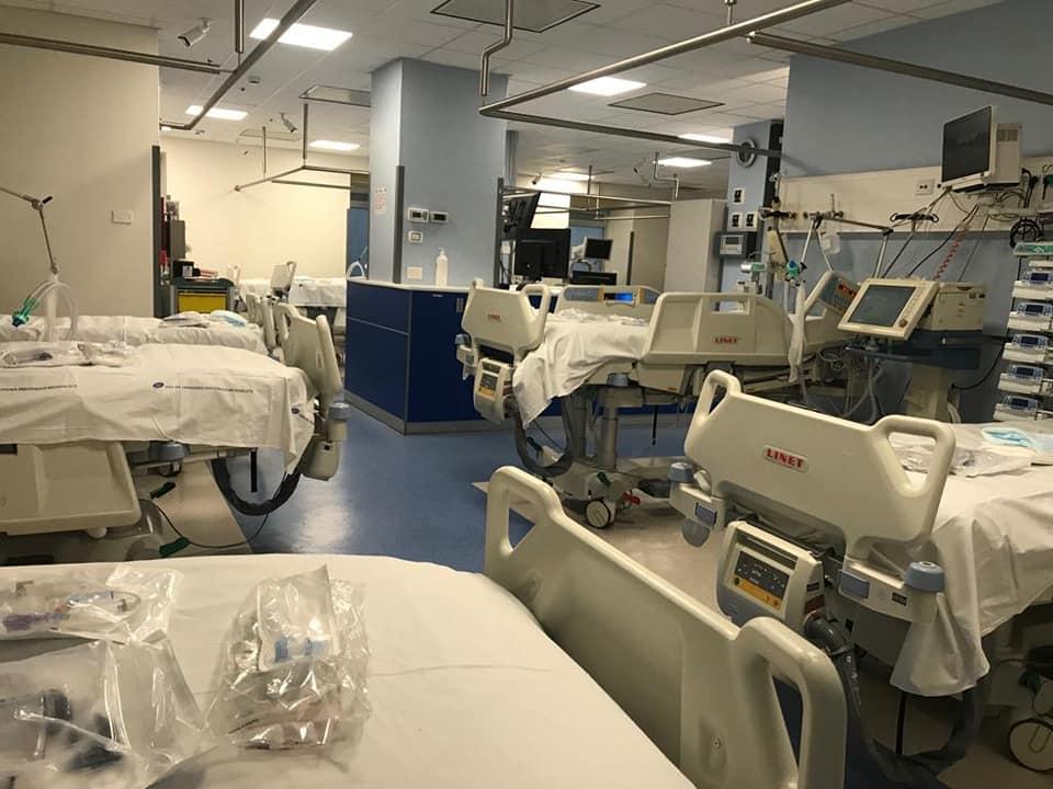 Ospedale Garibaldi, medici e infermieri realizzano reparto di terapia  intensiva [FOTO] – LiveUnict